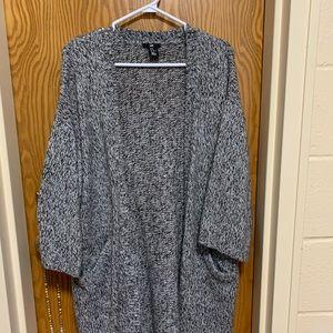 Comfy long cardigan